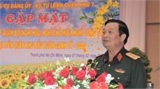 Bộ Tư lệnh Quân khu 7 gặp mặt cán bộ cao cấp Quân đội nghỉ hưu, nghỉ công tác trên địa bàn Quân khu