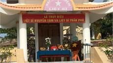 Tỉnh Ninh Thuận tổ chức Lễ truy điệu và an táng hài cốt liệt sĩ