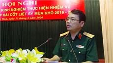 Ban Chỉ đạo 515 tỉnh Hà Tĩnh tổ chức Hội nghị tổng kết và rút kinh nghiệm công tác tìm kiếm, quy tập hài cốt liệt sĩ mùa khô 2019 - 2020