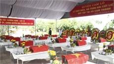 Huyện Cam Lộ, tỉnh Quảng Trị tổ chức Lễ truy điệu và an táng 18 hài cốt liệt sĩ
