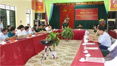 Ban Chỉ đạo 515 tỉnh Thái Nguyên tổ chức Hội thảo kết luận thông tin về mộ liệt sĩ