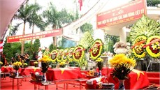Tỉnh Hà Giang tổ chức  Lễ truy điệu và an táng hài cốt liệt sĩ