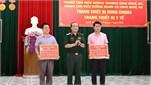Bộ Quốc phòng trao trang thiết bị dùng chung, trang thiết bị y tế tặng các Trung tâm điều dưỡng thương binh và người có công tại tỉnh Nghệ An