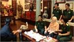 Bộ Tổng Tham mưu QĐND Việt Nam tổ chức các hoạt động Đền ơn đáp nghĩa nhân dịp kỷ niệm 73 năm Ngày Thương binh - Liệt sĩ và hướng tới kỷ niệm 75 năm ...