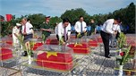 Tỉnh Long An tổ chức Lễ truy điệu và an táng 110 hài cốt liệt sĩ