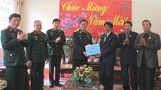 Thượng tướng Lê Hữu Đức thăm Làng Hữu Nghị Việt Nam