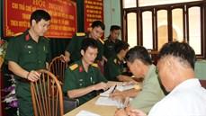 Bộ Chỉ huy Quân sự  tỉnh Phú Thọ hoàn thành thực hiện chi trả trợ cấp một lần  theo Quyết định 62/2011/QĐ-TTg, đợt thứ  11 năm 2015