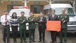 Bộ Quốc phòng trao tặng xe ô tô; trang, thiết bị dùng chung tặng các trung tâm nuôi dưỡng, điều dưỡng thương binh và người có công với cách mạng