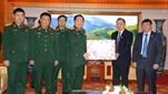 Đại tướng Ngô Xuân Lịch, Ủy viên Bộ Chính trị, Bộ trưởng Bộ Quốc phòng thăm và chúc Tết Trung ương Hội Cựu chiến binh Việt Nam