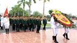 Quân ủy Trung ương - Bộ Quốc phòng dâng hương tưởng niệm Đại tướng Văn Tiến Dũng