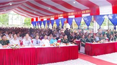 Lữ đoàn 134/Binh chủng Thông tin liên lạc tổ chức Lễ kỷ niệm 45 năm Ngày hy sinh của 13 cán bộ, chiến sĩ thông tin Trạm cơ vụ A69 anh hùng