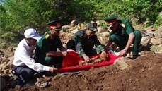 Bộ Chỉ huy quân sự tỉnh Ninh Thuận đẩy nhanh công tác tìm kiếm, quy tập hài cốt liệt sĩ