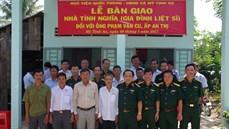 Học viện Quốc phòng tổ chức Lễ bàn giao nhà tình nghĩa tặng các gia đình chính sách
