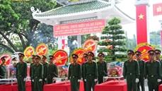 Tỉnh Tây Ninh tổ chức Lễ truy điệu và an táng 266 hài cốt liệt sĩ