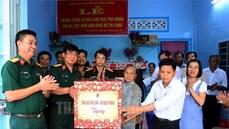 Tổng cục Hậu cần tặng nhà tình nghĩa Bà mẹ Việt Nam anh hùng
