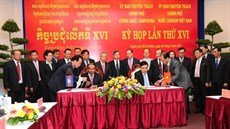 Kỳ họp lần thứ XVI giữa Ủy ban Chuyên trách hai Chính phủ Việt Nam - Campuchia