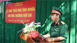 Sư đoàn 968/Quân khu 4 trao nhà tình nghĩa tặng thân nhân liệt sĩ