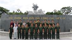 Kết quả thực hiện công tác chính sách và hoạt động Đền ơn đáp nghĩa của Quân đoàn 2 trong năm 2017