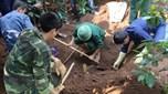 Phát hiện hài cốt liệt sĩ kèm di vật có khắc tên, ngày hy sinh tại huyện Hướng Hóa, tỉnh Quảng Trị