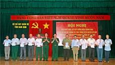 Bộ Chỉ huy quân sự tỉnh Nam Định quan tâm, chăm lo công tác chính sách đối với Quân đội và hậu phương Quân đội