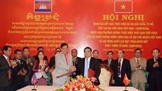 Đẩy nhanh tiến độ hoàn thành dự án sửa chữa, tu bổ, tôn tạo các Đài Hữu nghị Việt Nam - Campuchia xây dựng trên đất Campuchia