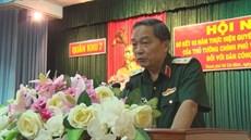 Ban Chỉ đạo 24 Quân khu 7 tổ chức Hội nghị Sơ kết 02 năm thực hiện Quyết định số 49/2015/QĐ-TTg của Thủ tướng Chính phủ