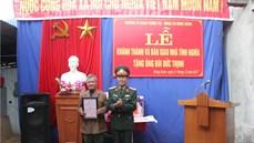 Trường Sĩ quan Chính trị tổ chức Lễ khánh thành và bàn giao nhà tình nghĩa tặng gia đình chính sách