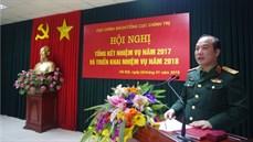 Cục Chính sách/Tổng cục Chính trị tổ chức Hội nghị tổng kết nhiệm vụ năm 2017 và triển khai nhiệm vụ năm 2018
