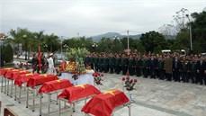 Tỉnh Điện Biên tổ chức Lễ truy điệu và an táng 09 hài cốt liệt sĩ