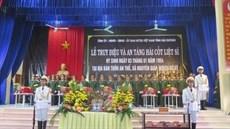 Tỉnh Hải Dương tổ chức Lễ truy điệu và an táng 09 hài cốt liệt sĩ