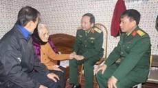 Quân khu 2 tổ chức thăm, tặng quà các đối tượng chính sách trên địa bàn tỉnh Điện Biên và Sơn La