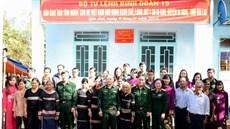 Binh đoàn 15 trao nhà tình nghĩa tặng Bà mẹ Việt Nam anh hùng