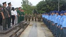 Bộ Chỉ huy quân sự tỉnh Tây Ninh tặng quà, động viên cán bộ, chiến sĩ Đội tìm kiếm, quy tập hài cốt liệt sĩ K70, K71