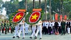 Thành phố Hồ Chí Minh tổ chức Lễ truy điệu và an táng 06 hài cốt liệt sĩ