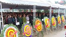 Tỉnh Quảng Trị tổ chức Lễ truy điệu và an táng 40 hài cốt liệt sĩ
