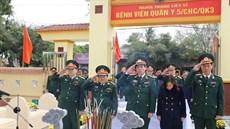 Bộ Tư lệnh Quân khu 3 tổ chức Lễ khánh thành công trình nâng cấp nghĩa trang liệt sĩ Bệnh viện Quân y 5