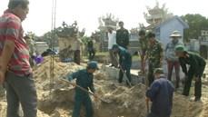 Phát hiện, quy tập hài cốt liệt sĩ tại huyện Triệu Phong, tỉnh Quảng Trị