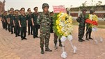 Dâng hương tưởng niệm các Anh hùng liệt sĩ Quân tình nguyện Việt Nam tại Stung Treng vương quốc Campuchia