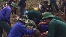 Đoàn KTQP 337 - Quân khu 4 đã quy tập thêm 03 hài cốt liệt sĩ tại huyện Hướng Hóa, tỉnh Quảng Trị