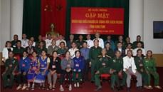Gặp mặt Đoàn đại biểu người có công với cách mạng tỉnh Kon Tum