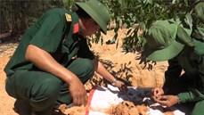 Bộ CHQS tỉnh Bình Thuận phát hiện, quy tập được 04 hài cốt liệt sĩ hy sinh trong kháng chiến chống Pháp