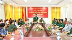 Bộ Tư lệnh Quân khu 3 tổ chức gặp mặt Đoàn đại biểu Cựu Thiếu niên dũng sĩ diệt Mỹ