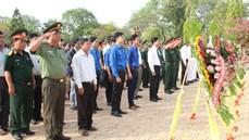 Tỉnh Bình Thuận tổ chức Lễ truy điệu và an táng 06 hài cốt liệt sĩ