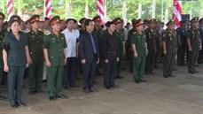 Tỉnh Gia Lai tổ chức Lễ truy điệu và an táng 21 hài cốt liệt sĩ được tìm kiếm, quy tập tại Campuchia trong mùa khô 2017 - 2018