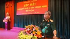 Bộ Quốc phòng gặp mặt Đoàn đại biểu Người có công với cách mạng tỉnh Nghệ An
