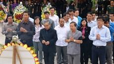 Tỉnh Kon Tum tổ chức Lễ truy điệu và an táng hài cốt liệt sĩ được tìm kiếm, quy tập tại Lào và Campuchia trong mùa khô 2017 - 2018