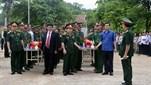Tỉnh Điện Biên tổ chức Lễ truy điệu và an táng hài cốt liệt sĩ được tìm kiếm, quy tập tại Lào trong mùa khô 2017 - 2018