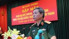 Bộ Quốc phòng gặp mặt Đoàn đại biểu thương binh, bệnh binh nặng của Trung tâm Điều dưỡng Thương binh Thuận Thành