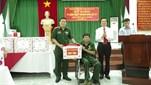 Binh chủng Công binh tổ chức thăm, tặng quà Trung tâm Điều dưỡng thương binh Duy Tiên và đối tượng chính sách nhân dịp kỷ niệm 71 năm Ngày Thương ...