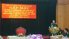 Bộ Tư lệnh Thủ đô tổ chức Gặp mặt thương binh, thân nhân liệt sĩ đang công tác nhân dịp kỷ niệm 71 năm Ngày Thương binh - Liệt sĩ